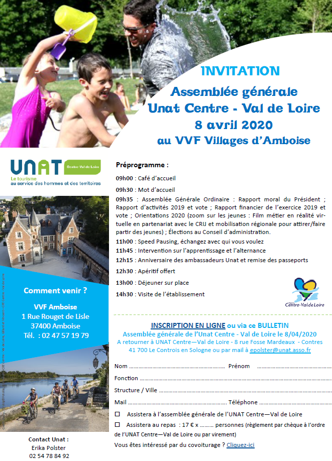 assemblée générale-UNAT-invitation